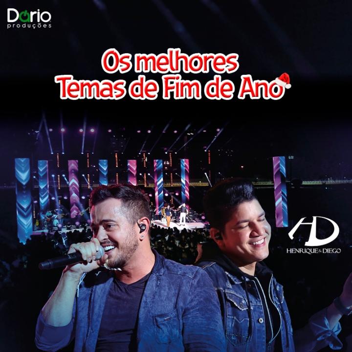 instagram Henrique e Diego
