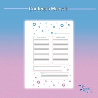 planner blog mensal