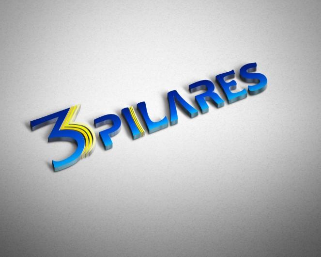 logo 3 pilares 3D